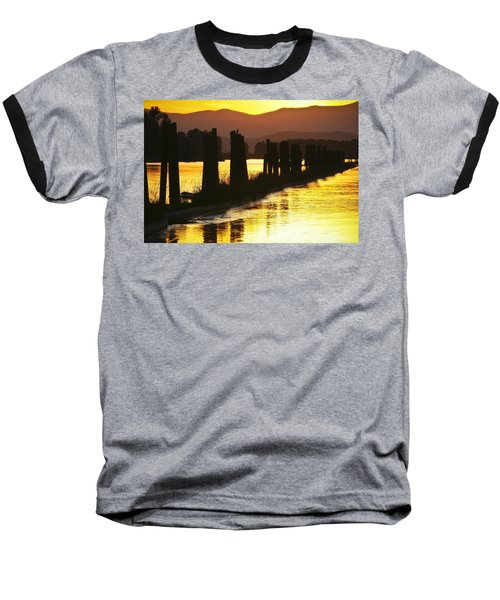 Baseball T-Shirt featuring the photograph The Lost River Of Gold by Albert Seger