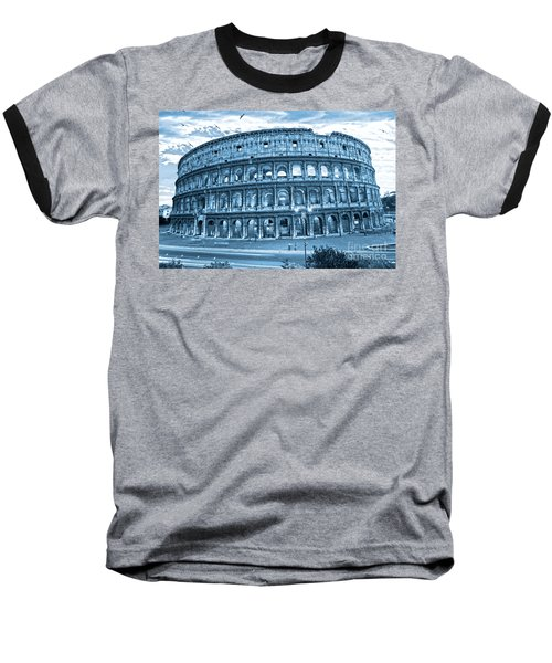 Baseball T-Shirt featuring the photograph The Majestic Coliseum by Luciano Mortula