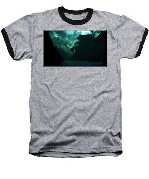 Baseball T-Shirt featuring the digital art The Majesty... by Tim Fillingim