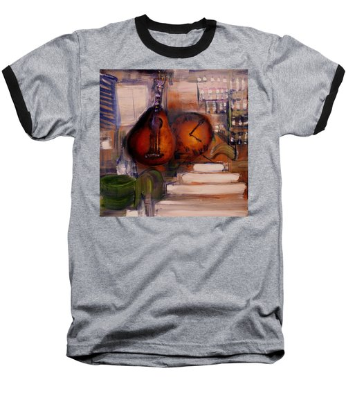 The Mandolin Baseball T-Shirt by Evelina Popilian