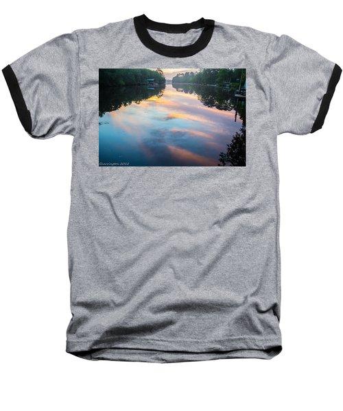 The Mirror Baseball T-Shirt by Shannon Harrington