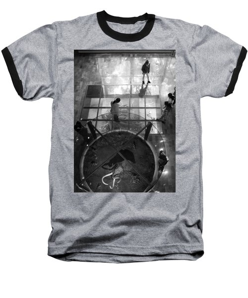Baseball T-Shirt featuring the photograph The Oculus by Lynn Palmer