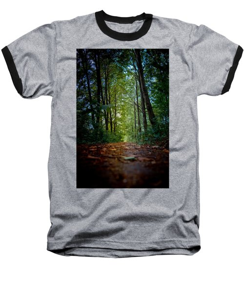 The Pathway In The Forest Baseball T-Shirt