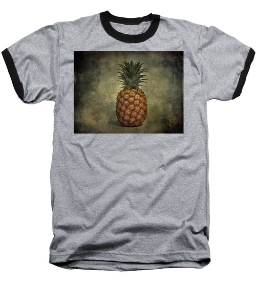 The Pineapple  Baseball T-Shirt by Jerry Cordeiro