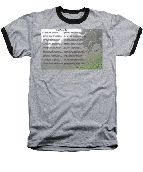 Baseball T-Shirt featuring the photograph The Pinnacle by Tikvah's Hope