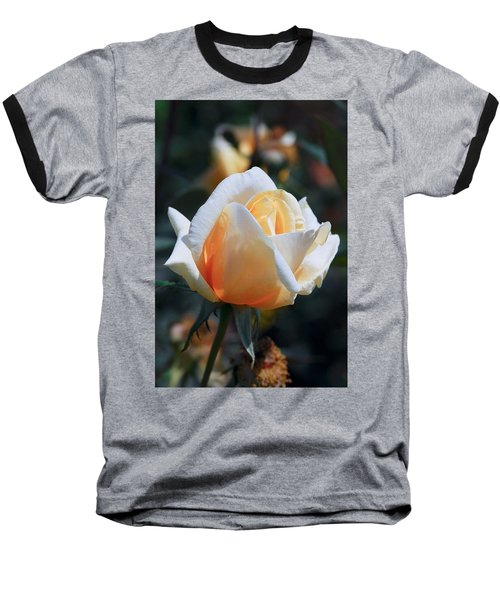Baseball T-Shirt featuring the photograph The Rose by Fotosas Photography