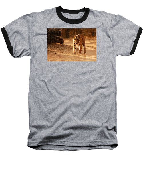 Baseball T-Shirt featuring the photograph The Royal Bengal Tiger by Fotosas Photography