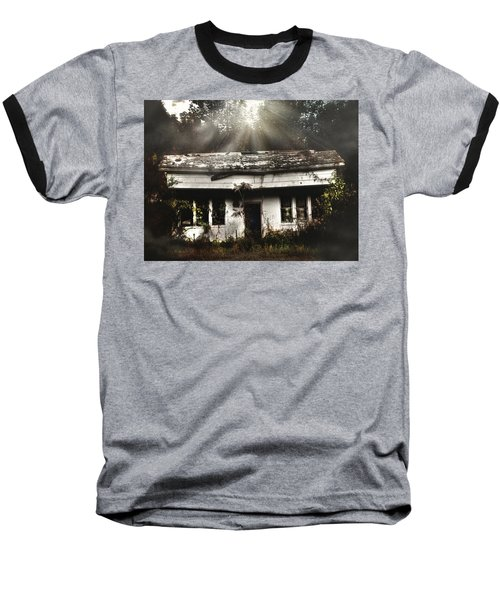 The Shack Baseball T-Shirt by Jessica Brawley