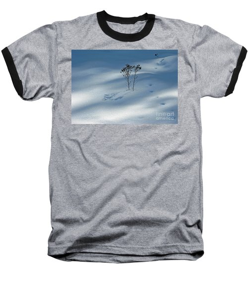 Baseball T-Shirt featuring the photograph The Shadow Of Loneliness by Ausra Huntington nee Paulauskaite
