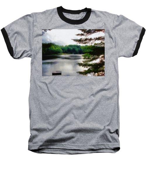 The Swimming Dock Baseball T-Shirt