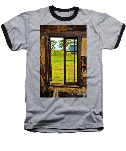 Baseball T-Shirt featuring the photograph The View From Within by Blair Stuart
