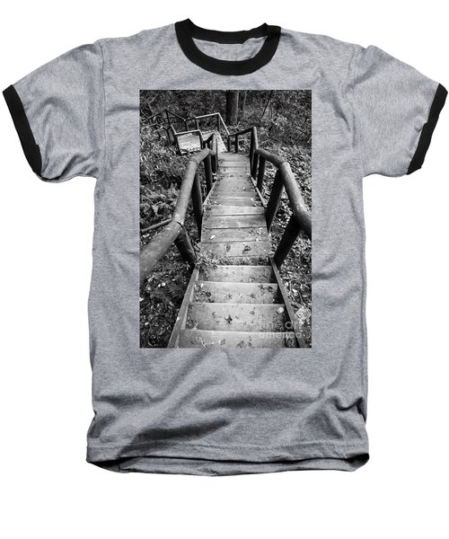 The Way Down Baseball T-Shirt
