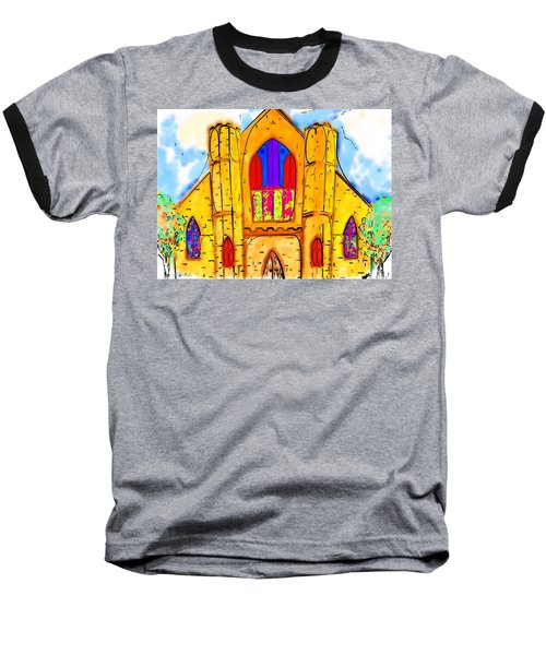The Wedding Chapel Baseball T-Shirt