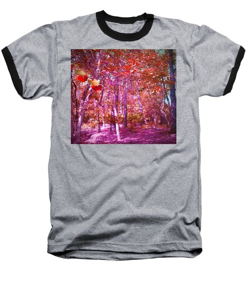 Baseball T-Shirt featuring the photograph Thicket In Color by George Pedro