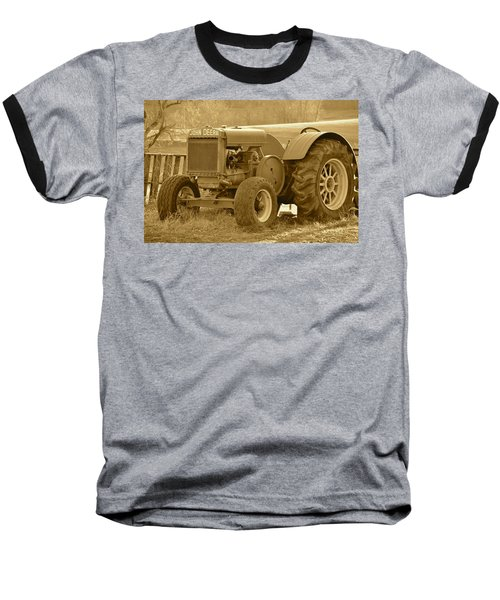 This Old Tractor Baseball T-Shirt