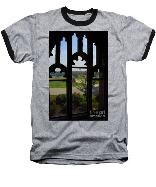 Baseball T-Shirt featuring the photograph Through The Chapel Arches by Cindy Manero