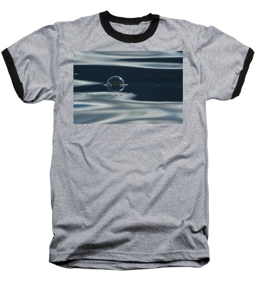 Through The Milky Way In My Spaceship Baseball T-Shirt by Cathie Douglas