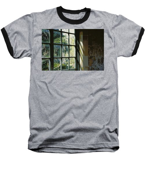Baseball T-Shirt featuring the photograph View Through The Window by Marilyn Wilson