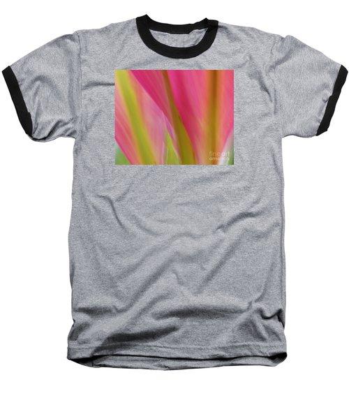 Ti Leaves Baseball T-Shirt by Ranjini Kandasamy