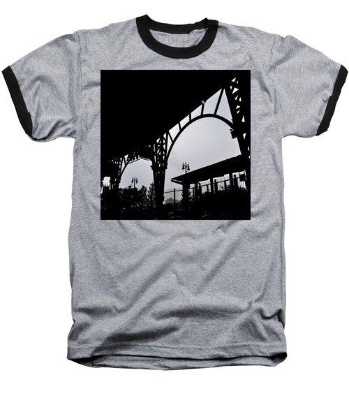 Tiger Stadium Silhouette Baseball T-Shirt