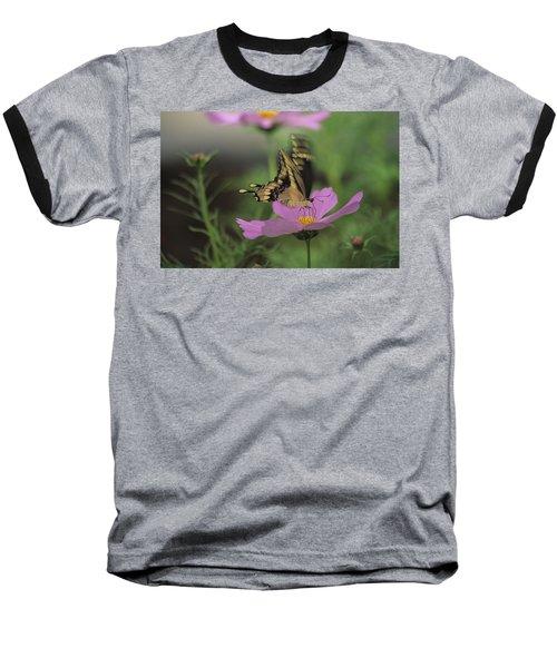 Tiger Swallowtail Butterfly Baseball T-Shirt