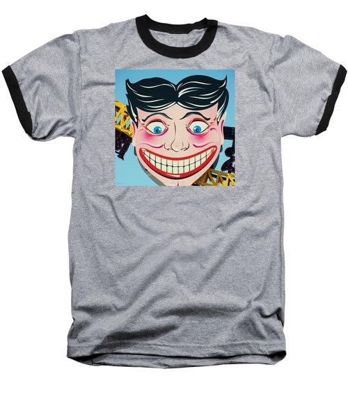 Tillie The Clown Of Coney Island Baseball T-Shirt