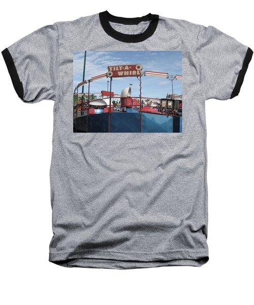 Tilt A Whirl Ride Baseball T-Shirt