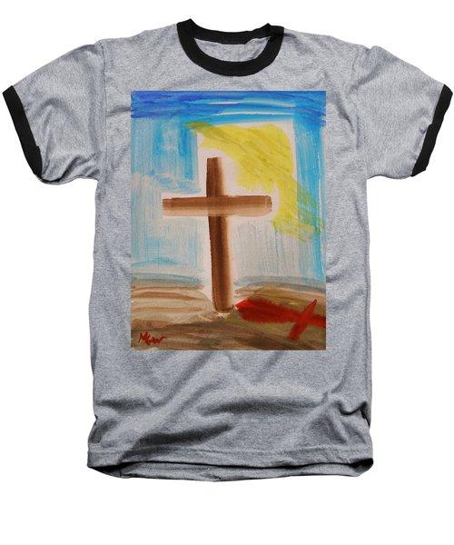 Tim Tebow's Cross-easter Monday Baseball T-Shirt