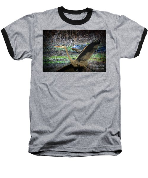 Baseball T-Shirt featuring the photograph Time To Leave by Dan Friend