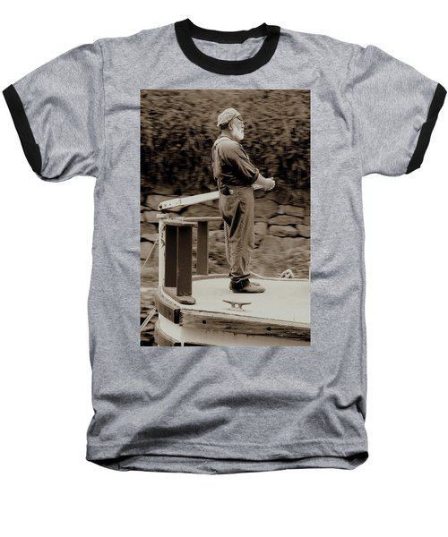 Baseball T-Shirt featuring the photograph Timeless Serenity by Suzanne Stout