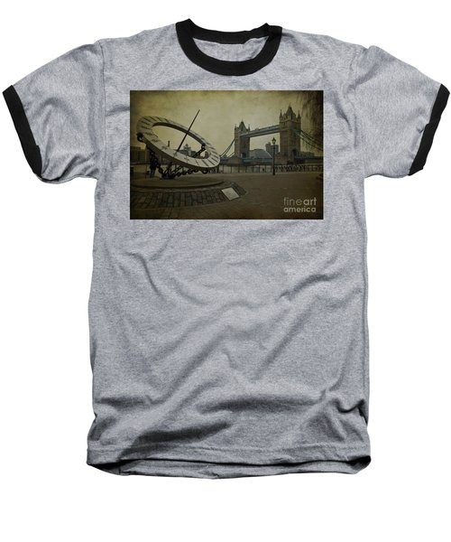 Baseball T-Shirt featuring the photograph Timepiece. by Clare Bambers