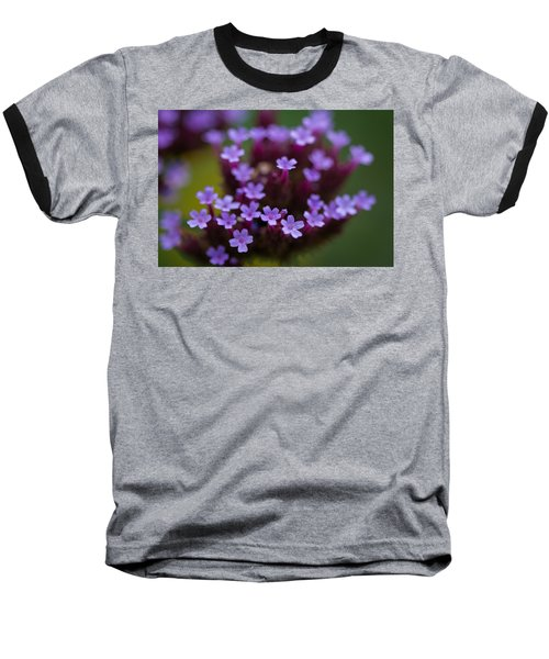 tiny blossoms II Baseball T-Shirt by Andreas Levi