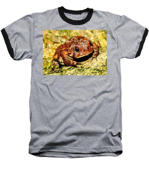 Baseball T-Shirt featuring the photograph Toad by Joe  Ng