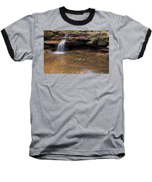 Baseball T-Shirt featuring the photograph Tolliver Falls by Jeannette Hunt