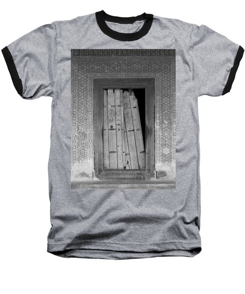 Baseball T-Shirt featuring the photograph Tomb Door by David Pantuso