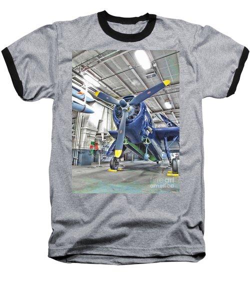 Torpedo Bomber Baseball T-Shirt
