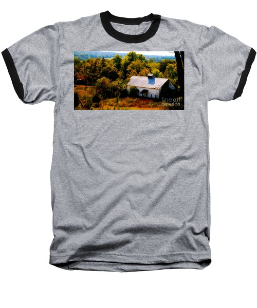 Baseball T-Shirt featuring the photograph Touch Of Old Country by Peggy Franz