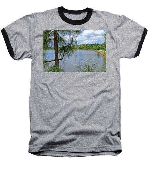 Tower Thru The Pine Baseball T-Shirt