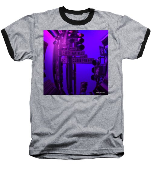 Baseball T-Shirt featuring the photograph Traffic Stop by George Pedro