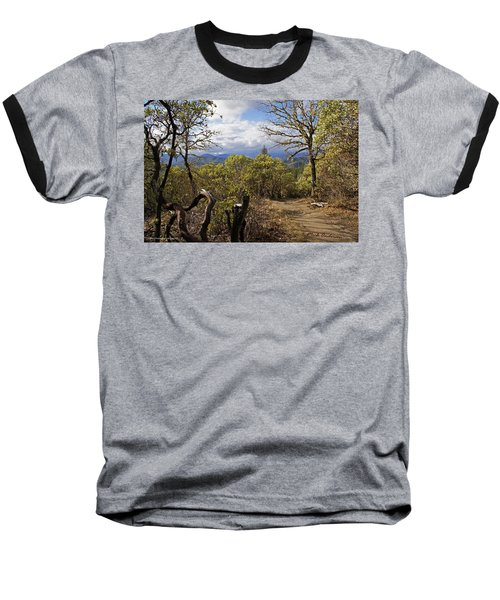 Trail At Cathedral Hills Baseball T-Shirt by Mick Anderson