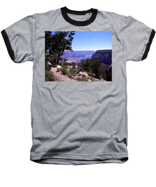 Trail To The Canyon Baseball T-Shirt