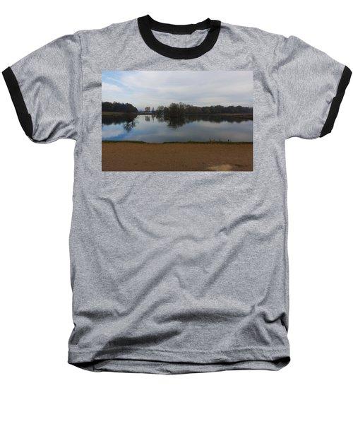 Baseball T-Shirt featuring the photograph Tranquil by Maj Seda