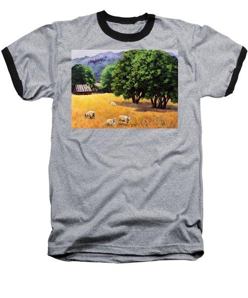 Tranquil Pastures Baseball T-Shirt