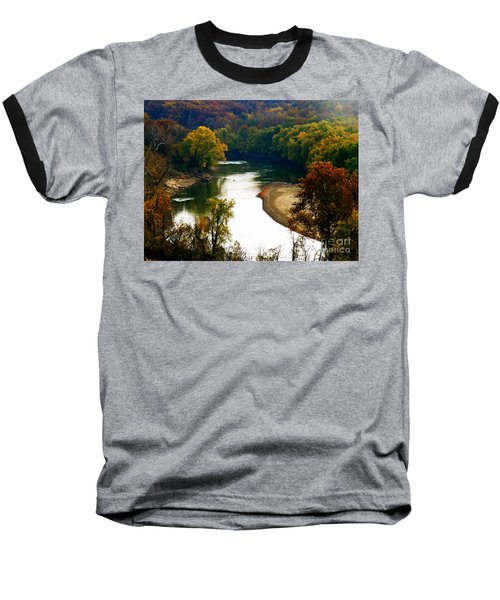 Baseball T-Shirt featuring the photograph Tranquil View by Peggy Franz
