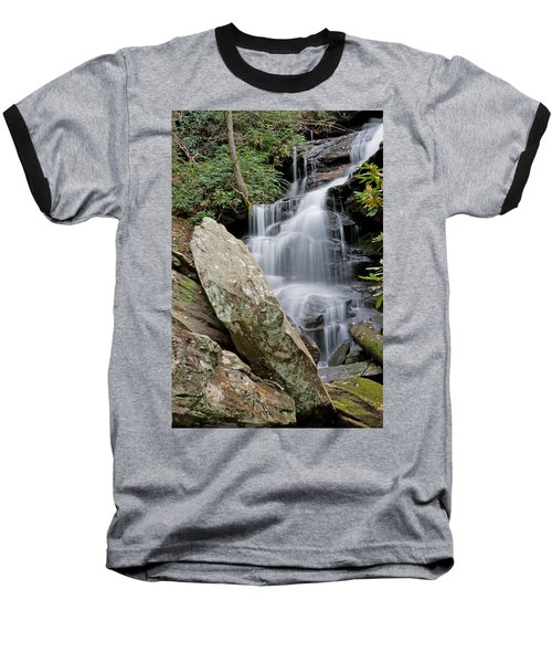 Tranquil Waterfall Baseball T-Shirt