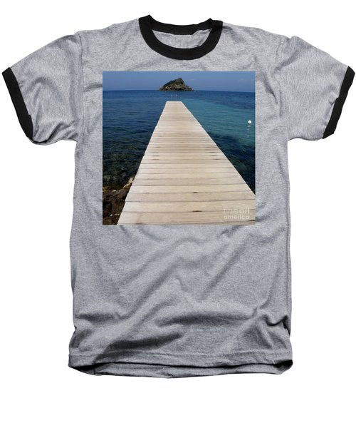 Tranquility  Baseball T-Shirt by Lainie Wrightson