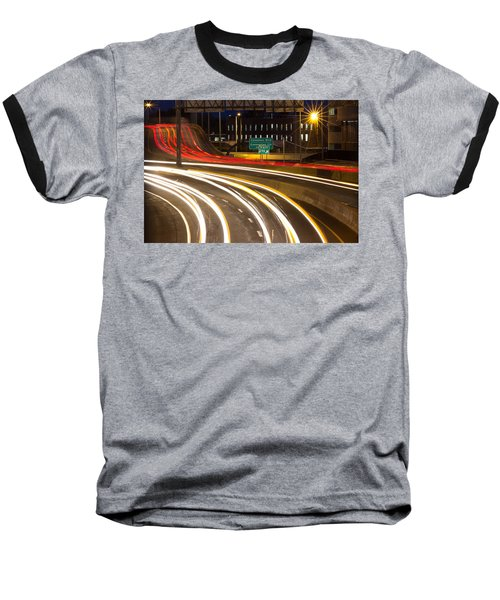 Traveling In Time Baseball T-Shirt
