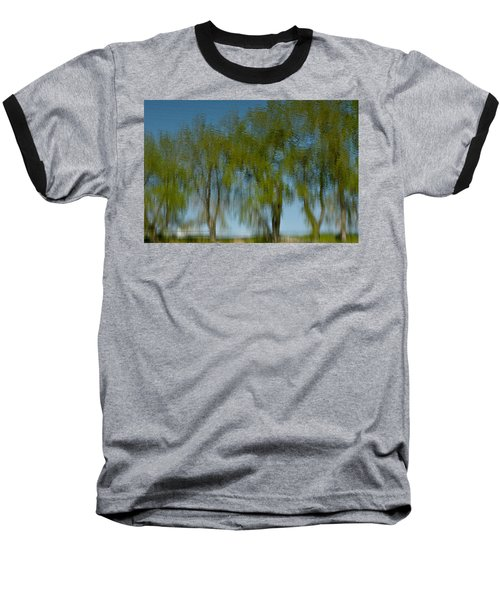 Tree Line Reflections Baseball T-Shirt