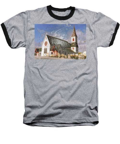 Baseball T-Shirt featuring the photograph Trinity  by Lydia Holly