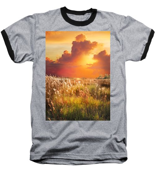 Tropical Savannah Baseball T-Shirt